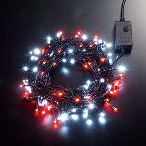 LEDストリングライト 24V 5m 白・赤