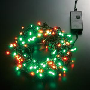 LEDストリングライト 24V 5m 赤・緑