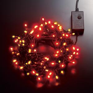 LEDストリングライト 24V 10m 赤・黄