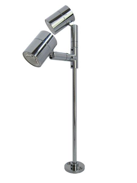 2灯式LEDスタンドランプ [電球色]