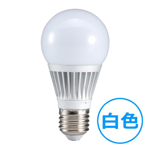 LED電球40W型 【6W白色】