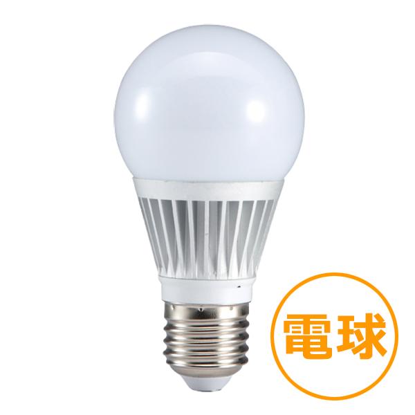 LED電球40W型 【6W電球色】