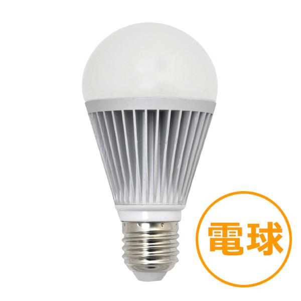 調光対応LED電球60W型 【8.5W電球色】