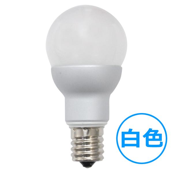 E17 ミニクリプトン型LED電球 【4W白色】