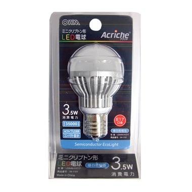 ミニクリプトン形LED電球 [昼白色]