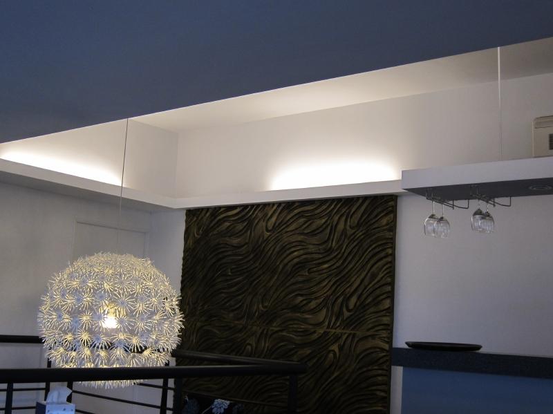 間接照明事例 LEDライトバー