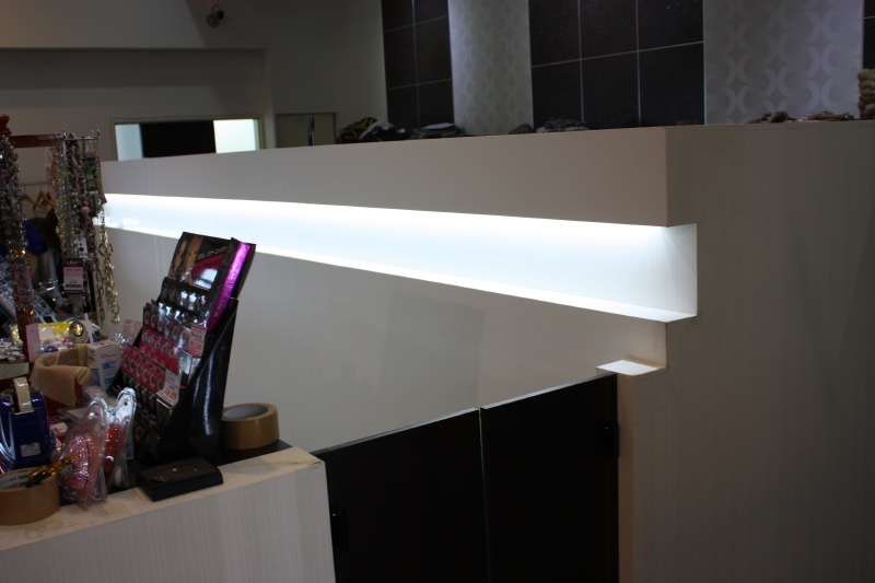 LEDライトバーを利用した間接照明