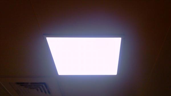 シーリングパネル照明 【電源込】