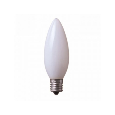 ヤザワ C32形LEDランプ 電球色 E17口金