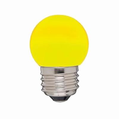 ヤザワG形LEDランプ E26 橙