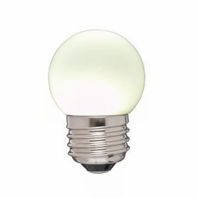 ヤザワG形LEDランプ E26 白