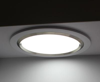 【6W】 LEDダウンライト 埋込穴Φ125