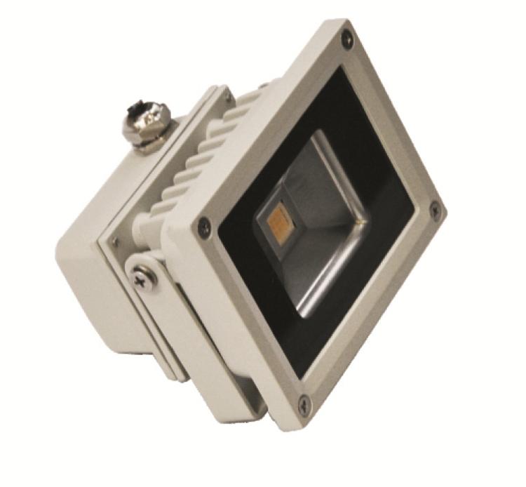 【10W】 屋外防水型LEDライト 昼白色6500K IP65