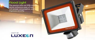 赤外線センサー付LEDライト IP54防水性能 【在庫特価】