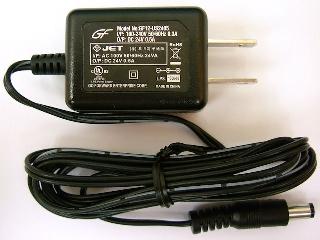 24V ACアダプター [0.5A/12W]