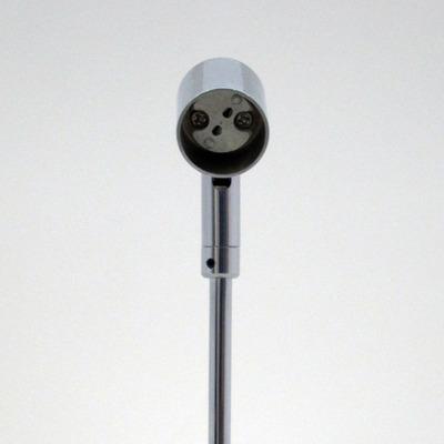 GU5.3 ランプスタンド クローム18cm