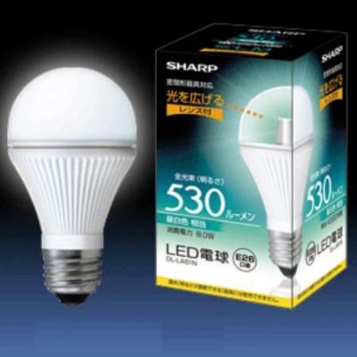 電球形LEDランプ 口金E26 8W [シャープ]