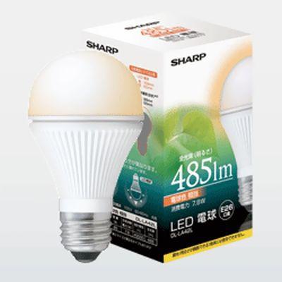 【7.8W】 電球形LEDランプ 口金E26 7.8W <シャープ製>
