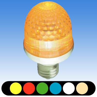 屋外LEDサイン球 口金E26 (屋外使用可能)