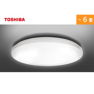 東芝LEDシーリングライト(調光調色/6畳用/3699 lm/プレーンタイプ)