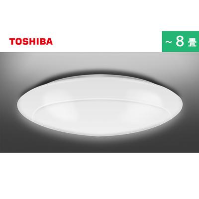 東芝LEDシーリングライト(調光調色/8畳用/4299 lm/きれいに光るタイプ)