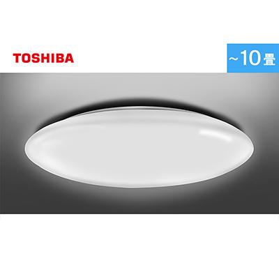 東芝 LEDシーリングライト(調光/10畳用/4,899lm/プレーンタイプ/昼光色)