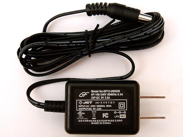 5V ACアダプター [2A/12W]